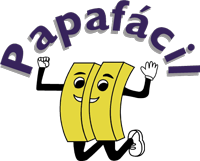logo papafácil pie