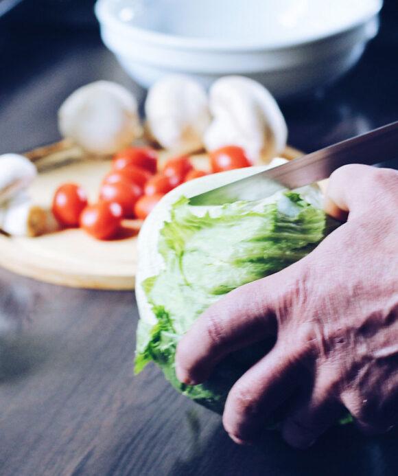 verduras y hortalizas lavadas y cortadas papafacil